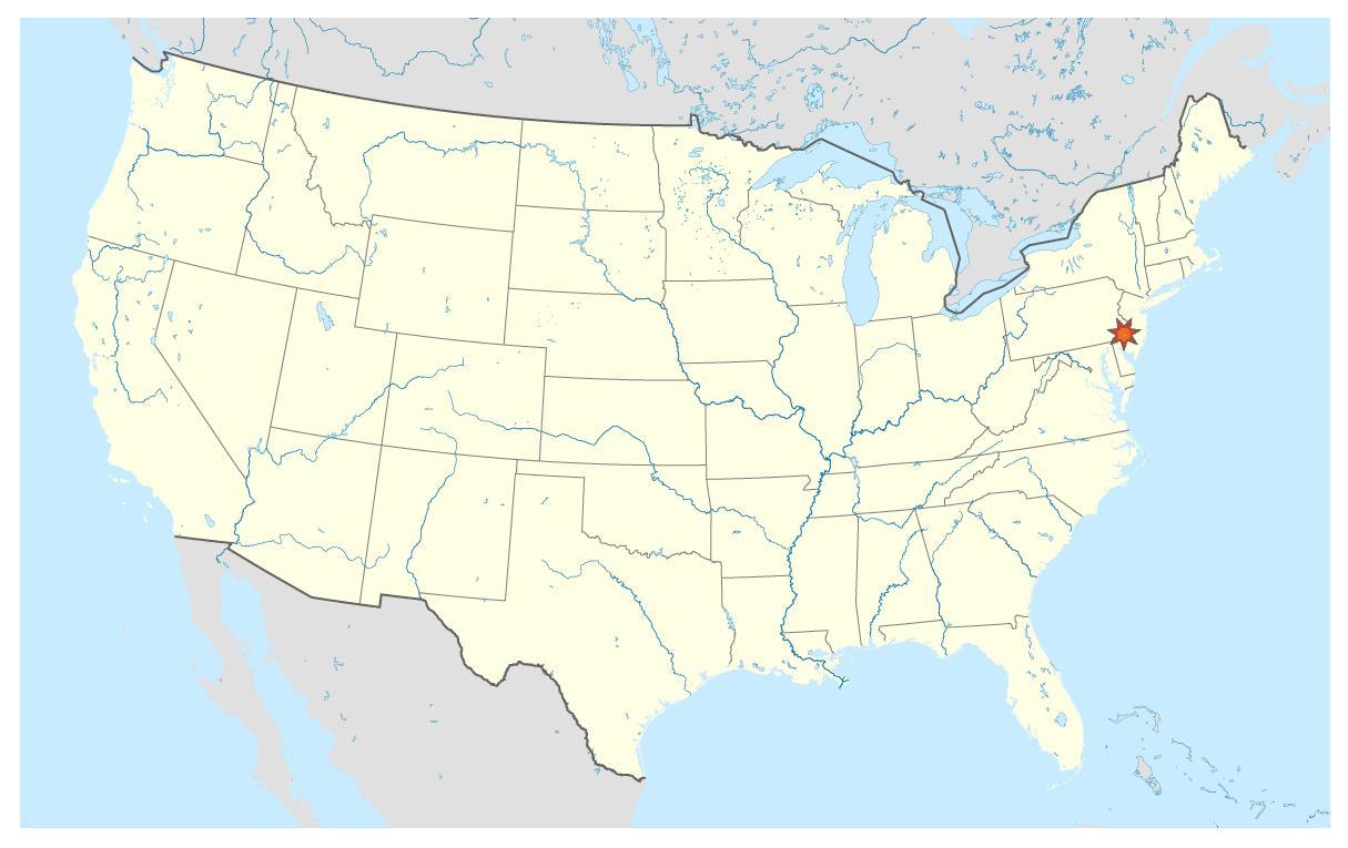 Pennsylvania On The Us Map Missouri Map Where Is Pennsylvania - Pennsylvania in us map
