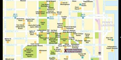 Philadelphia Map Maps Philadelphia Pennsylvania USA - Historic philadelphia map